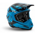Шлем кроссовый EVS T5 BOLT Blue / Black M