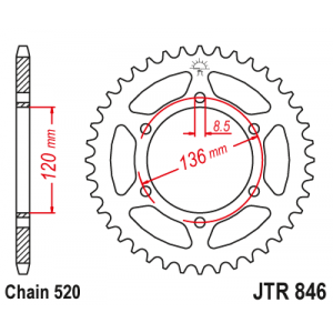 JTR 846.45 Звезда