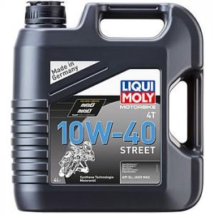 LIQUI MOLY 4T 10W40 Street 4л синтетика