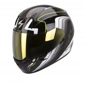 Шлем SCORPION EXO-410 AIR ALTUS, цвет Черный/Белый, Размер M