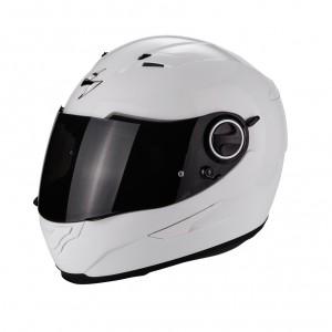 Шлем SCORPION EXO-490 SOLID, цвет Белый, Размер L