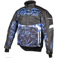 Куртка Снегоходная AGVSPORT Taiga черн/син. р.XL