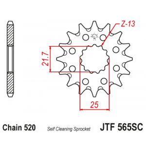 JTF 565.13SC Звезда