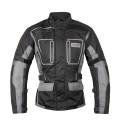 Мотокуртка DISCOVERY текстиль, цвет Черный/Серый, Размер L
