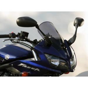 Ветровое стекло для FZS1000 Fazer (RN06/RN14) 2001-2005 Racing R, цвет Серый