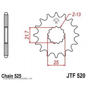 JTF 520.16 Звезда