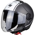 Шлем SCORPION CITY AVENUE, цвет Серый Матовый/Белый Матовый, Размер L