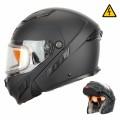 Шлем Снегоходный XTR MODE2 черн.мат.с электро стеклом р.М