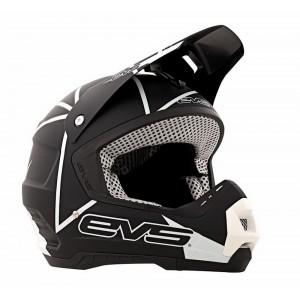 Шлем кроссовый EVS T5 NEON BLOCKS BLACK L