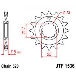 JTF 1536.16 Звезда