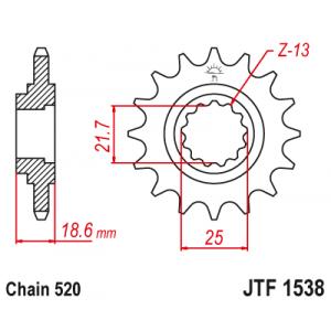 JTF 1538.15 Звезда