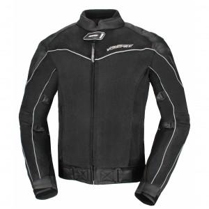 Текстильная куртка AGVSPORT Hatch, черная р.L