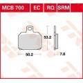 Колодки задние - RSV 1000 01-,Benelli: 756 07-, 899 11-, 900 03-,Bimoto