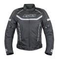 Мотокуртка RUSH WALTER текстиль, цвет Черный/Серый, Размер S