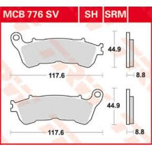 Колодки передние - CBR 600 11-/CB1000 08-