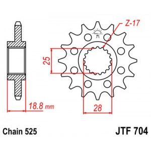 JTF 704.17 Звезда