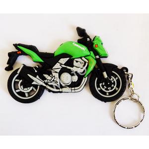 Брелок Kawasaki зеленый