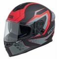 Шлем IXS HX 1100  черн,красн,сер. мат р.L