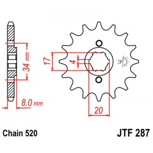 JTF 287.13 Звезда