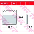 Колодки задние - GSF400/600