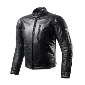Кожаная куртка SHIMA HUNTER+ black p.ХХХL