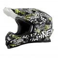 Шлем кроссовый ONEAL 3SERIES ATTACK p.L