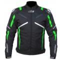 Текстильная куртка AGVSPORT Jet зеленая  p.L