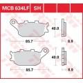 Колодки задние - R1 07-/CBR600/900