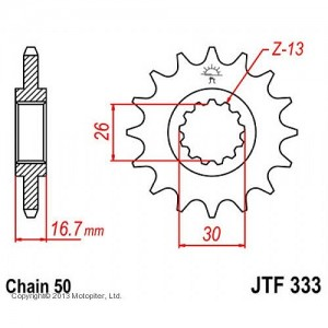 JTF 333.16 Звезда