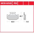 Колодки задние - DR250 Djebel