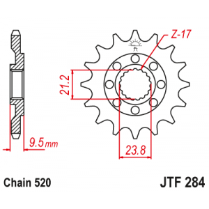 JTF 284.13SC Звезда