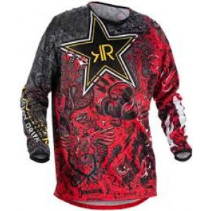 Джерси Motocross RR black red p.XS