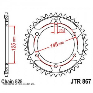 JTR 867.43 Звезда