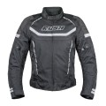 Мотокуртка RUSH WALTER текстиль, цвет Черный/Серый, Размер XL
