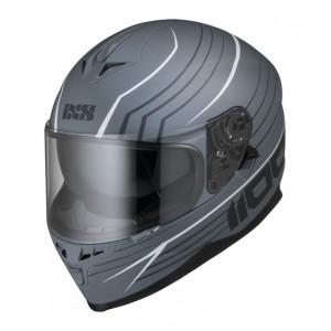 Шлем IXS HX 1100 серо белый р.L