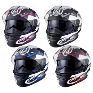 Шлем THH TS-80 #4 CLUTCH, цвет Черный/Синий, Размер L