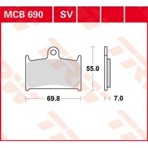 Колодки передние - GSF1200  Bandit