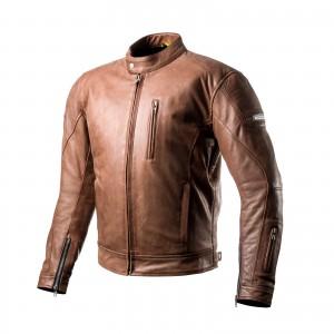 Кожаная куртка SHIMA HUNTER+ brown p.XL
