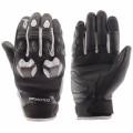 Перчатки кожаные MOTEQ Stinger белые р.М