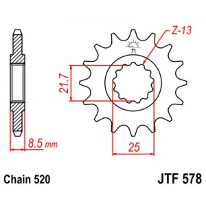 JTF 578.15 Звезда