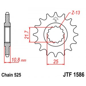 JTF 1586.16 Звезда