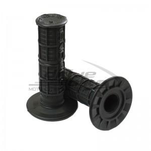 Ручки руля (комплект) ENDURO STYLE 22-25мм, цвет Черный