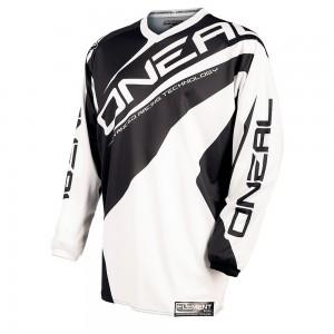 Джерси Element RACEWEAR black-white L