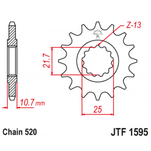 JTF 1595.16 Звезда