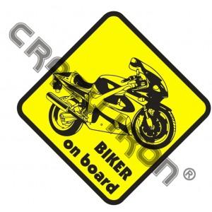 Наклейка на авто мотостикер №8