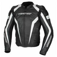 Кожаная куртка AGVSPORT Corsa черно/белая p.54