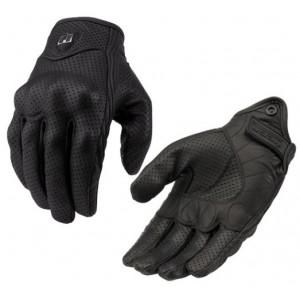Перчатки кожаные черные ICON p.XL