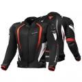 Текстильная куртка SHIMA MESH PRO BLACK/RED p.M