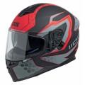 Шлем IXS HX 1100  черн,красн,сер. мат р.M