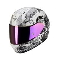 Шлем EXO-410 AIR ORCHID, цвет Жемчужный/Черный, Размер S